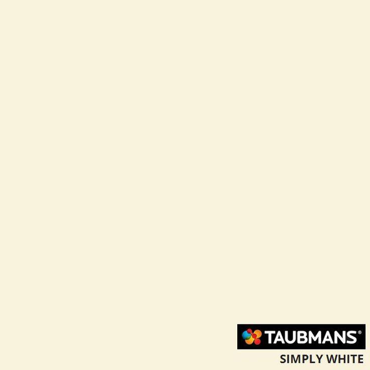 #Taubmanscolour #simplywhite