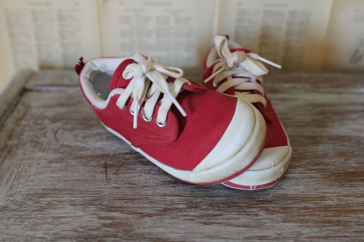 Red Ball Keds Shoes