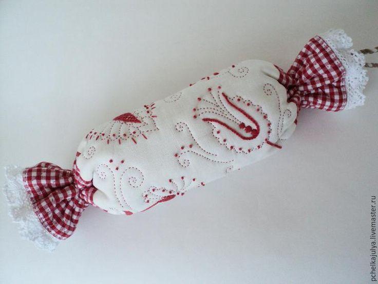 Создаём косметичку в виде конфеты в русском стиле - Ярмарка Мастеров - ручная работа, handmade