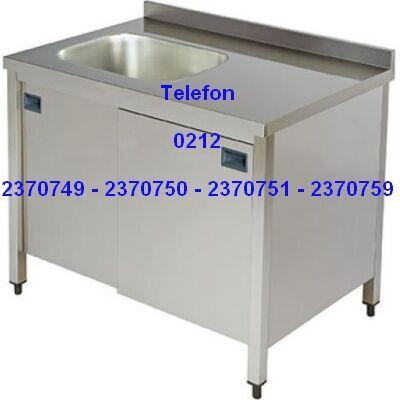 Evyeli Endüstriyel Mutfak Dolabı:Endüstriyel mutfaklar için sürme kapılı evyeli dolaplı çalışma tezgahlarının en kaliteli ara raflı dolaplı evyesi olan sürme kapılı çalışma tezgahları ve çeşitli mutfak çalışma masalarının modellerinin en uygun fiyatlarıyla satış telefonu 0212 2370749