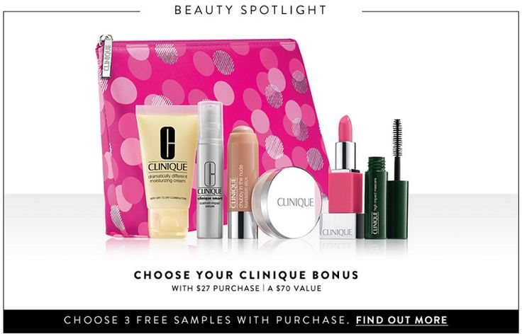 Wear It For Less: Nordstrom: Free Clinique Gift ($70 value) with $27 Purchase + Free Shipping!