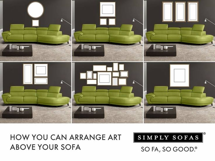 Leather Sofas These wall gallery ideas will inspire you to add that twist to your living room and