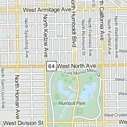 Humboldt Park neighborhood in Chicago, Illinois (IL), 60612, 60624, 60639, 60647, 60651 subdivision profile - real estate, apartments, condo...