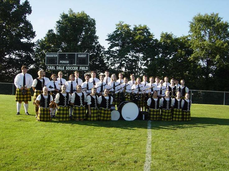 College of Wooster Pipe Band and Dancers