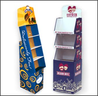 Custom Cardboard Display Stands | Point of Purchase (POP) Displays -