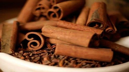Cinnamon (Kayu Manis in Indonesian) is a must ingredient in making Rendang..