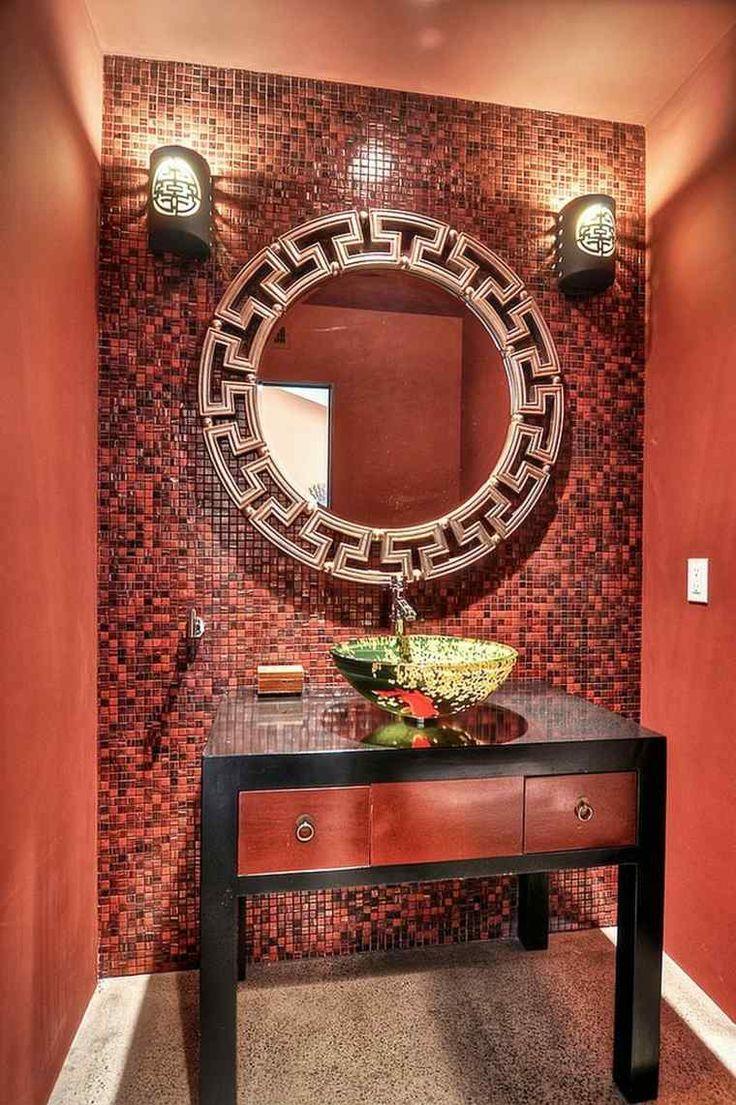 1000 idées sur le thème salles de bains rouge sur pinterest ...