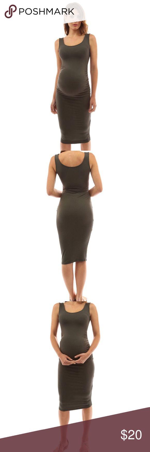 Mer enn 25 bra ideer om green maternity dresses p pinterest olive green maternity dress ombrellifo Images
