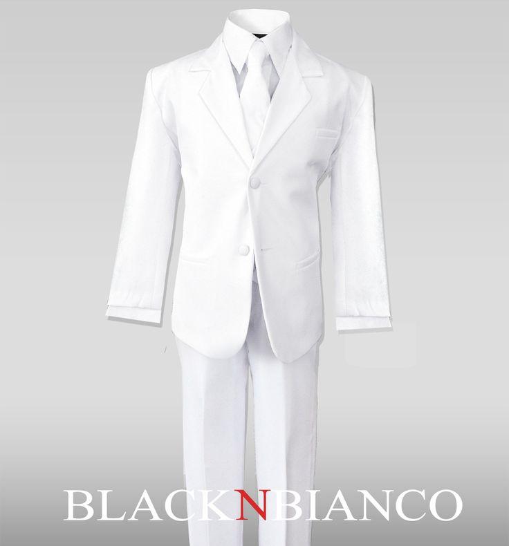 Black N Bianco - Boys White Formal Suit, $19.99 (http://www.blacknbianco.com/boys-white-formal-suit/)
