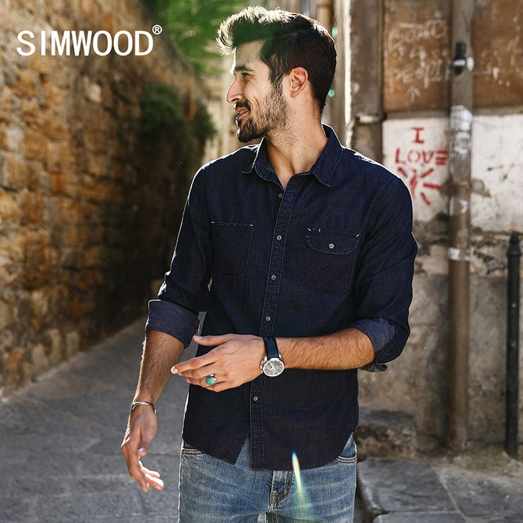 SIMWOOD 2017 New Spring Casual  Denim Shirts Men Slim Fit  Plus Size Brand Clothing CS1592 //Price: $56.96 & FREE Shipping //     #trending    #love #TagsForLikes #TagsForLikesApp #TFLers #tweegram #photooftheday #20likes #amazing #smile #follow4follow #like4like #look #instalike #igers #picoftheday #food #instadaily #instafollow #followme #girl #iphoneonly #instagood #bestoftheday #instacool #instago #all_shots #follow #webstagram #colorful #style #swag #fashion