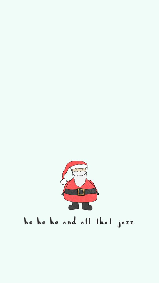 FREEBIE   Santa Claus IPhone Background