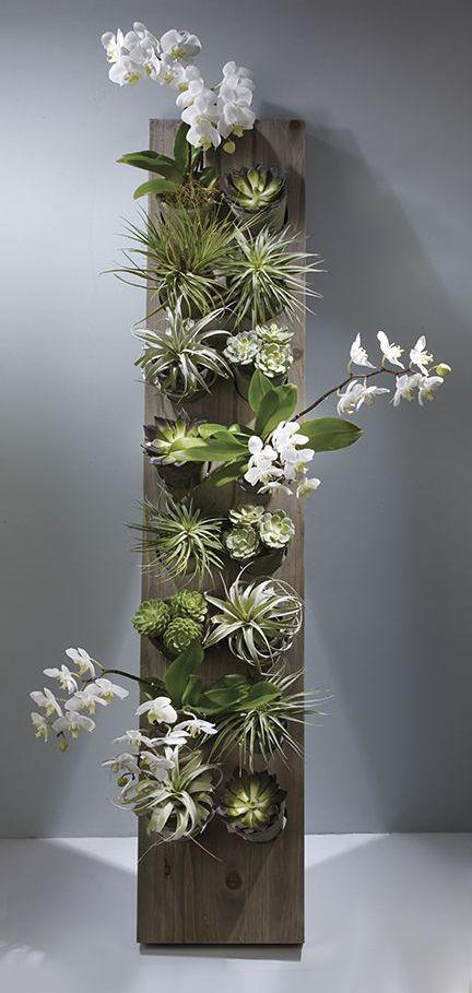 jardim-vertical-suspenso-inverno-ideias-43 Guia com 47 ideias para seu jardim vertical dicas faca-voce-mesmo-diy jardinagem madeira quintais