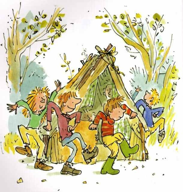 The 84 best images about quentin blake on pinterest for Arthur quentin cuisine