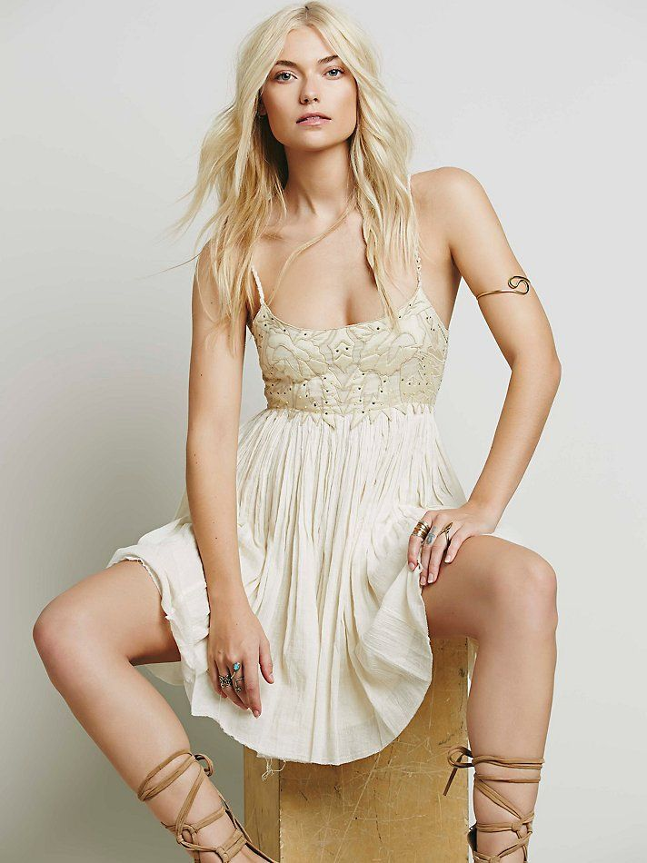 Free People Earth Angel Mini Dress at Free People Clothing Boutique