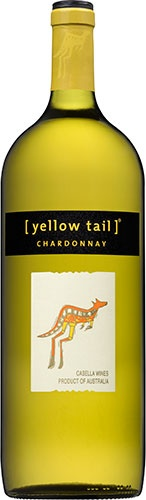 Yellow Tail Chardonnay: Rich tropical fruits with a creamy finish. This wine is soft yet fresh with balanced acidity and lingering melon flavors on the tongue. According to the winemaker's notes, it pairs well with foods such as chicken stir-fry, turkey with gravy, vegetable lasagna, sea bass and even macaroni and cheese.