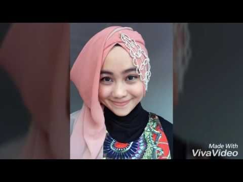 Tutorial hijab pesta simple (pashmina)