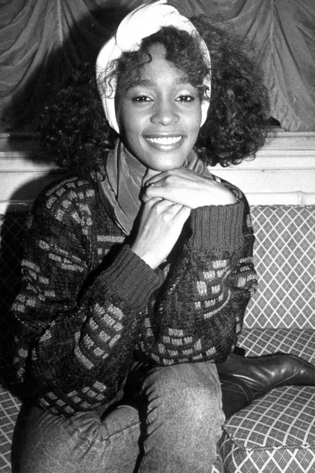 Whitney Houston in 1985.