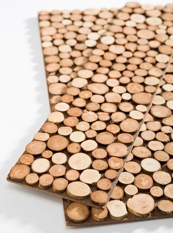 : Sustento Design : POMI Apple Wood Tiles