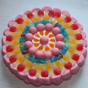 Comment faire un gateau avec des bonbons haribo
