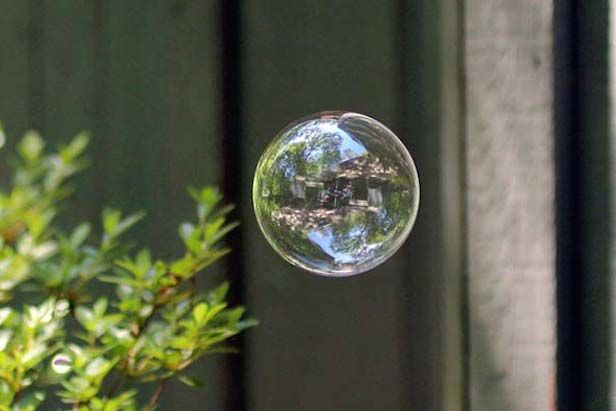 "The Bubble Test: Our Two Best Homemade Soap Bubble Recipes No. 51 by Mick Telkamp on June 2, 2014 Make It 1 Share  Our ""Mile High"" bubbles s..."