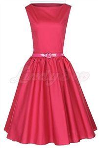 Pink Pin Up Full Circle Dress