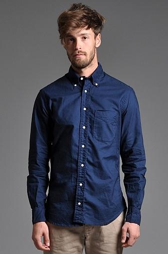 Gitman Vintage Oxford Shirt Navy
