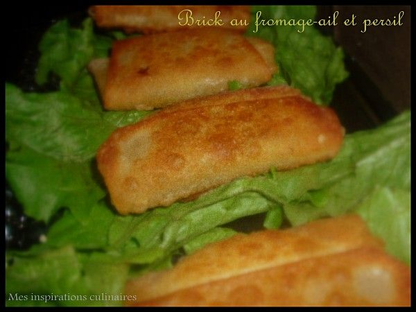 Brick au fromage-ail-persil