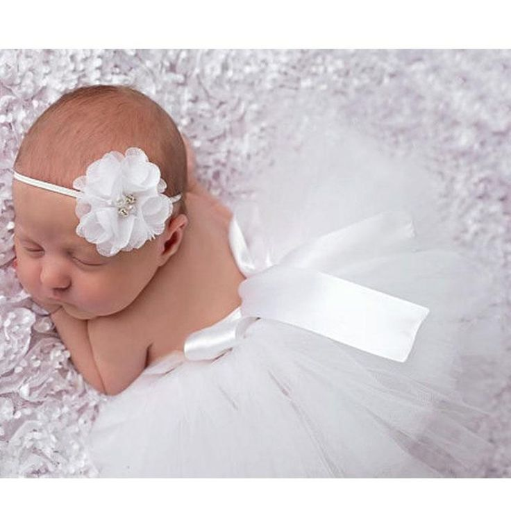 Tutu Baby Photography Outfit