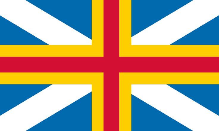 Flag of the United Semi-Autonomous Regions of Scotland and Åland