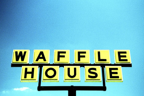 Great sign #typography - Waffle house by eyetwist (Flickr) #photography