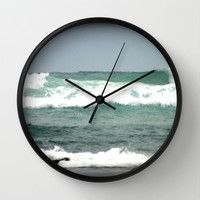 Incoming Wall Clock by Chris Chalk