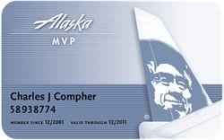 Alaska Airline Blue
