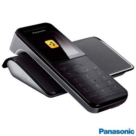 """Imagem para Telefone sem Fio Panasonic com Display 2,2"""", Viva-voz, Identificador de Chamadas - KX-PRW110LBW a partir de Fast Shop"""