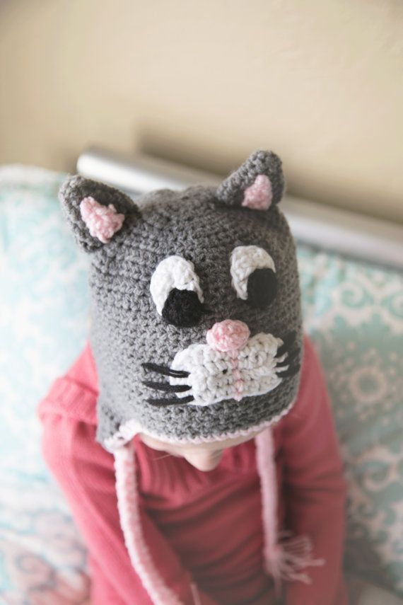 Crochet Siamese Cat Hat Pattern : 1000+ images about special2 on Pinterest