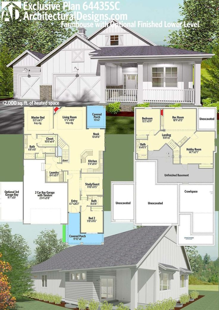 1000 ideas about modern farmhouse plans on pinterest House designs 2000 square feet