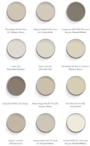 warm neutral paint colors by nita