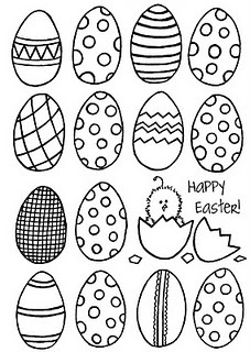 eggs pattern embroidery