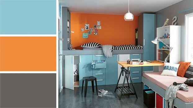 Decoration Chambre Ado Orange Et Bleu 72 Amiens 10110532 Sol Phenomenal Chambre Ado Orange Et Bleu 72 Amiens Chambre Ado Orange Chambre Ado Deco Chambre