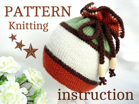 Knitting PATTERN Baby Hat Baby Beanie Knit Pattern by Solnishko43, $5.50