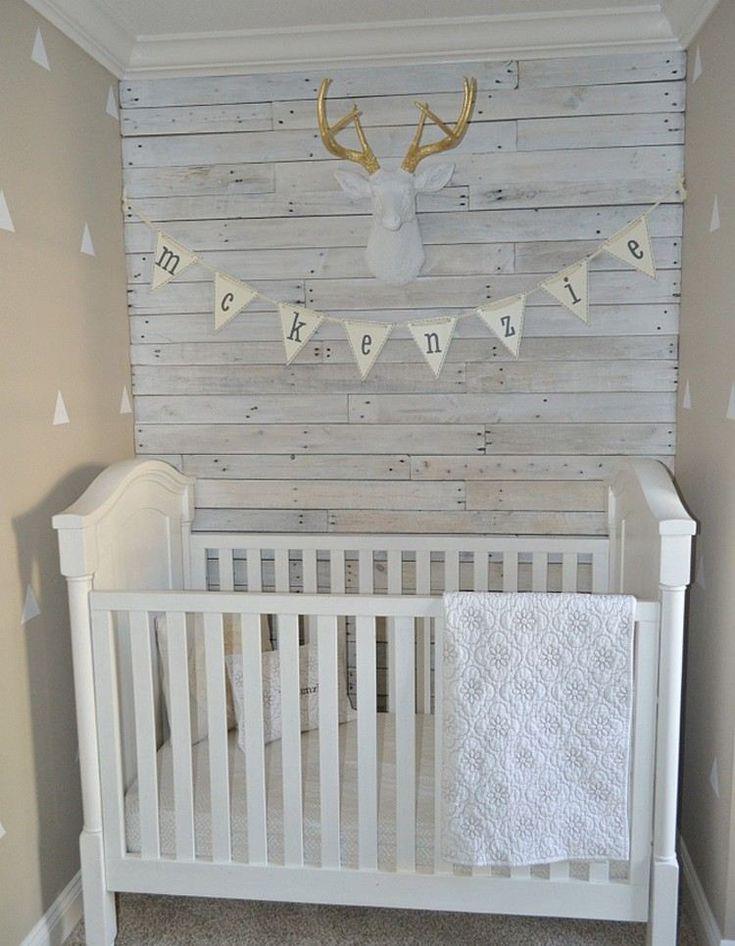 Lambris bois blanc –inviter le style campagne chic à la maison