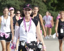 Walk 60 miles in 3 days and raise money for breast cancer.