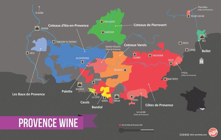 Provence is growing in popularity including it's flagship subregions like Bandol and Cassis. Hands down, one of the most underrated wine regions in France