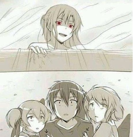 Sword Art Online    And on that day all of humanity was reminded that Asuna is the only one for Kirito in SAO.