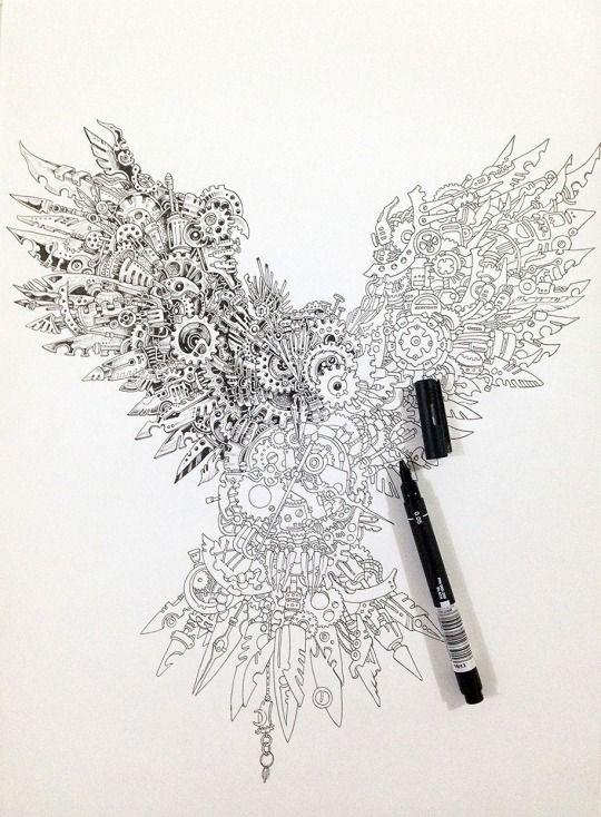 Steampunk Owl...