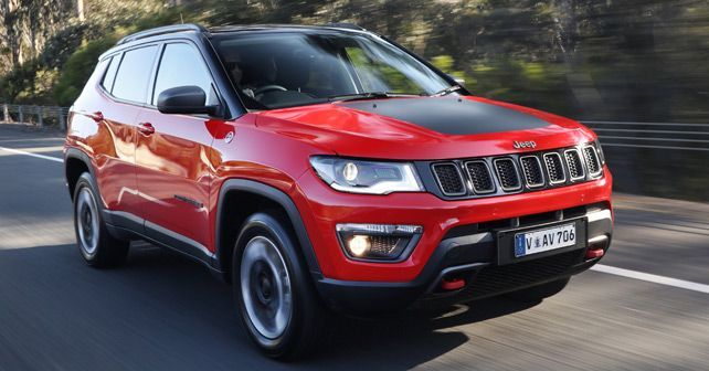 Jeep Compass Trailhawk Front Three Quarter1 Jeep Compass Jeep