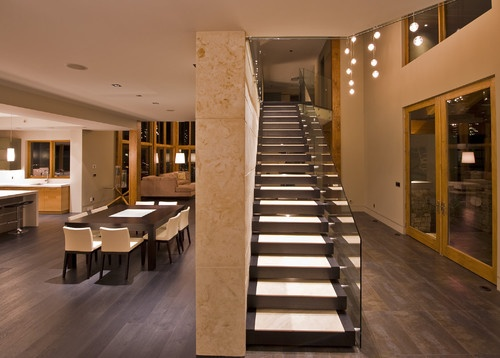 Best Staircase Images On Pinterest Modern Staircase - Suspended style floating staircase ideas for the contemporary home