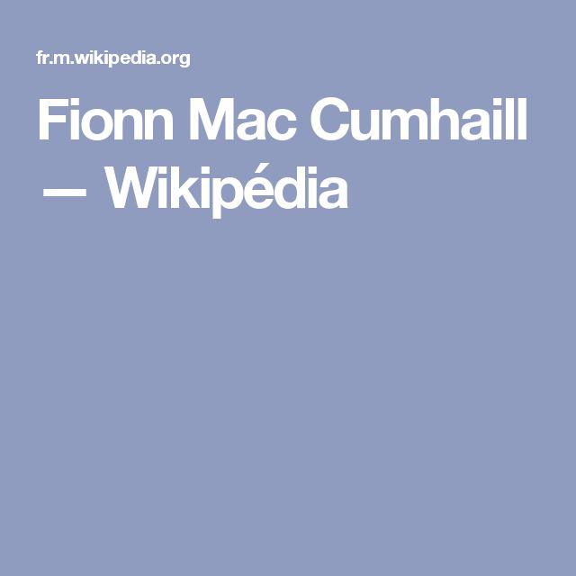 Fionn Mac Cumhaill — Wikipédia