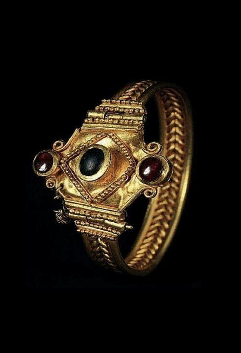 Scythian Gold Bracelet.
