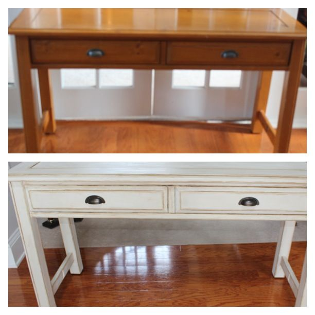 Refinished Furniture Before and After