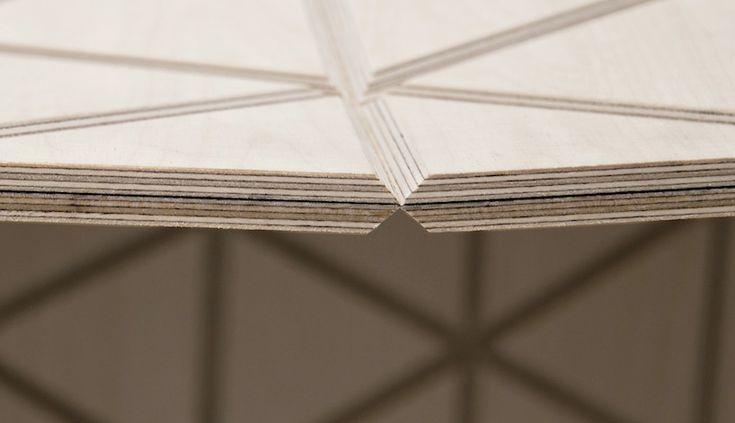 wood-skin composite material designboom